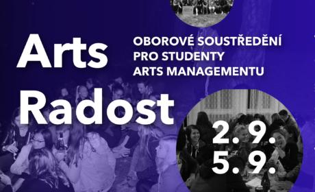 Oborové soustředění Arts managementu 2021