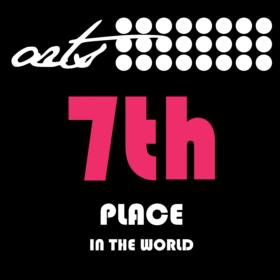 Máme 7. nejlepší Arts světa!